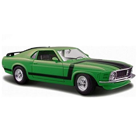 Maisto Maisto Ford Mustang Boss 1970 1:24 Renkli